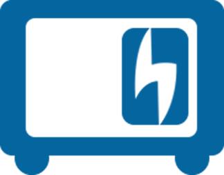 diesel generator icon. \ Diesel Generator Icon