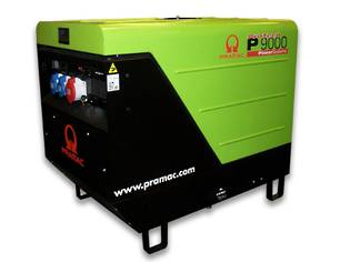 Pramac P9000 6.8kW Diesel 230 Volt Single Phase Electric Start